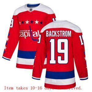 Washington Capitals Nicklas Backstrom Jersey
